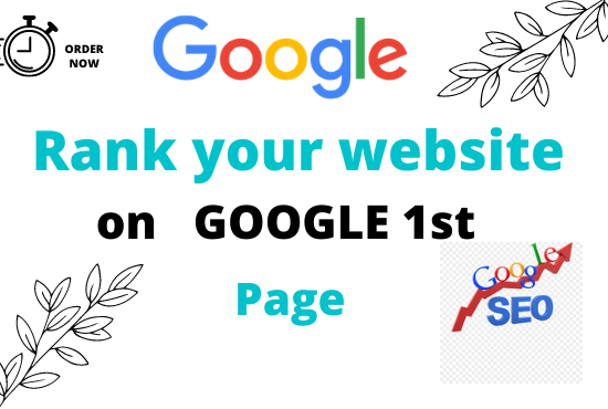 Guaranteed google 1st page ranking service with High Quality Backlink