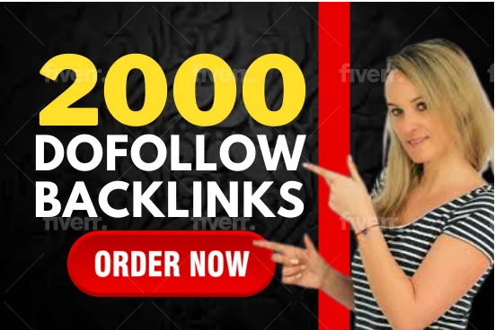 I will create 2000 high quality contextual dofollow seo backlinks service