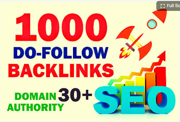 I will build 1000 dofollow SEO backlinks for higher ranking