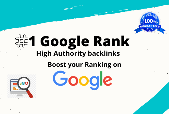 1st page ranking service with High Quality Backlink