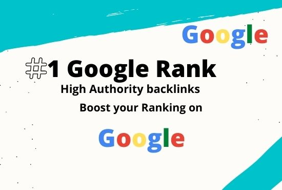 i will Rank your website on google 1st page by authority backlink and 50+ DA