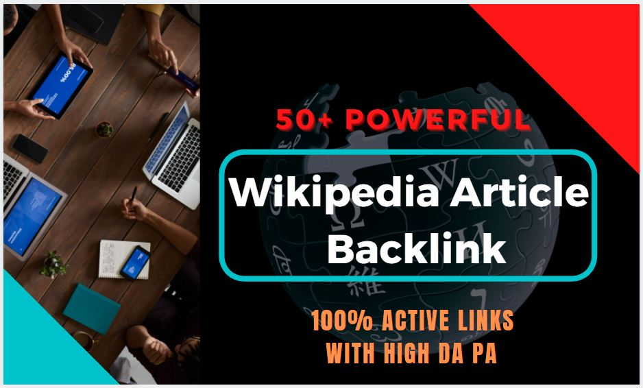 50 Best Wikipedia Article Backlink in 2021 at Low Price