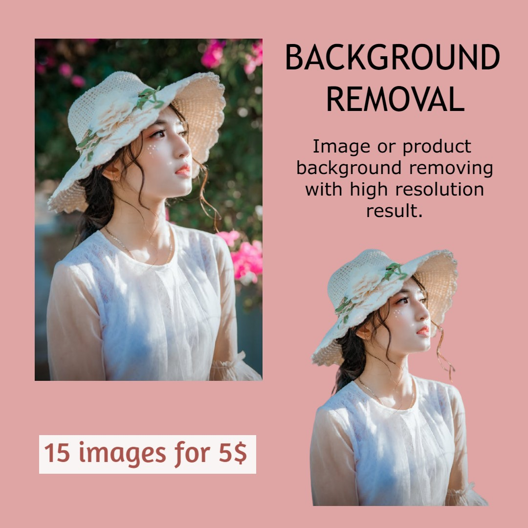 Professionally Remove Background From Images - Quality Result