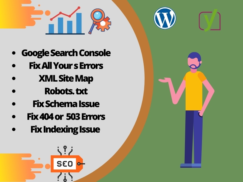 I will do index your website in google and fix google search console errors