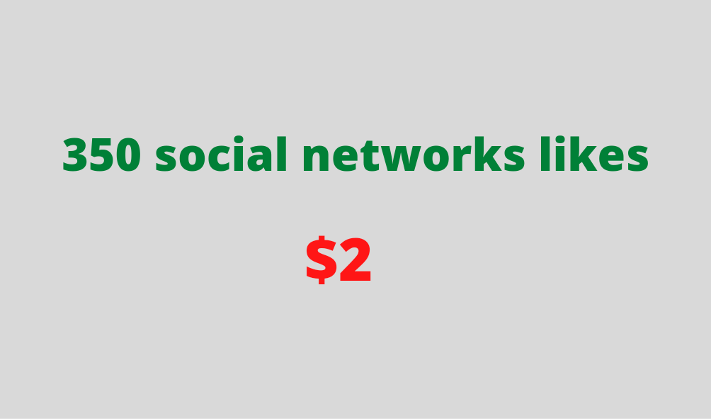 Social networks service to boost your posts popularity