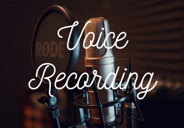 best Voice Recording male-famle