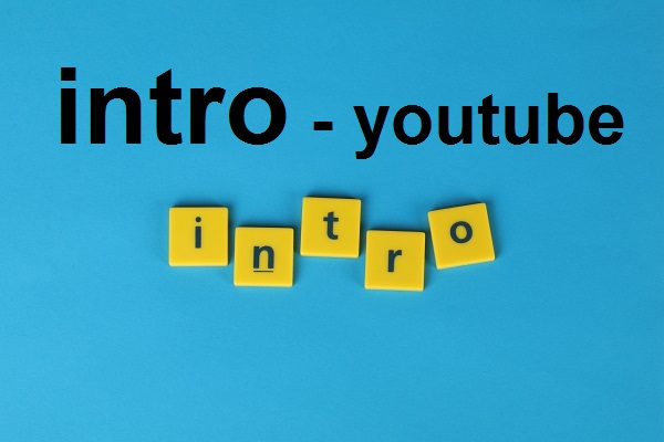 I will make unique youtube gaming intro and outro