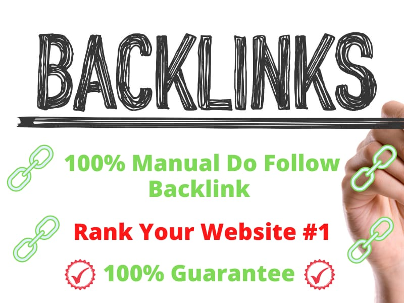 I will provide high authority manual seo dofollow backlink service for you