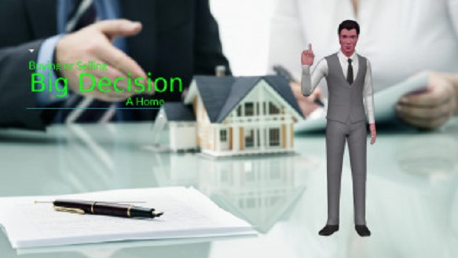 Grab your 3D promo animation real estate broker video