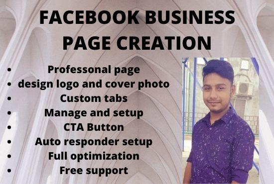 I will optimize an impressive facebook business page creation,  setup,  manage.