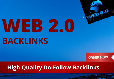35 Web 2.0 High Authority Contextual Backlinks unique content do follow link building