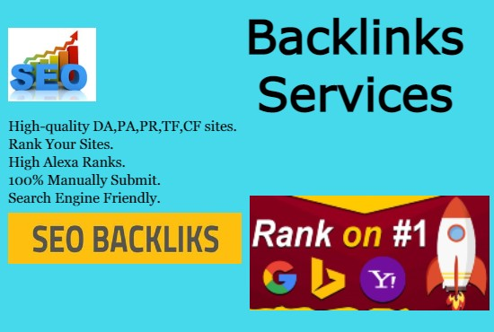 I will do Manully 100 seo high quality backlinks