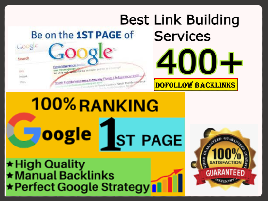 Rank your website 1st on google with SEO Backlinks services manually