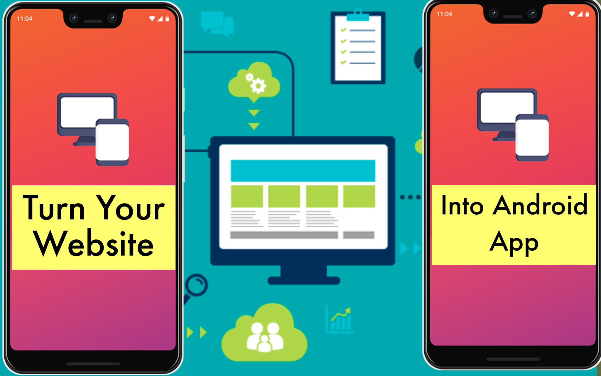 Turn Your Website Into A Beautiful And Eye-catching Android App