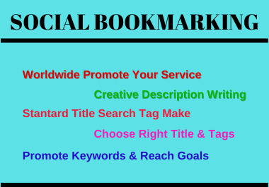 100 Manualy Social Bookmarking Submission with High-Quality Backlinks