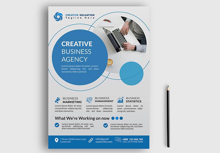 I will do business flyer design