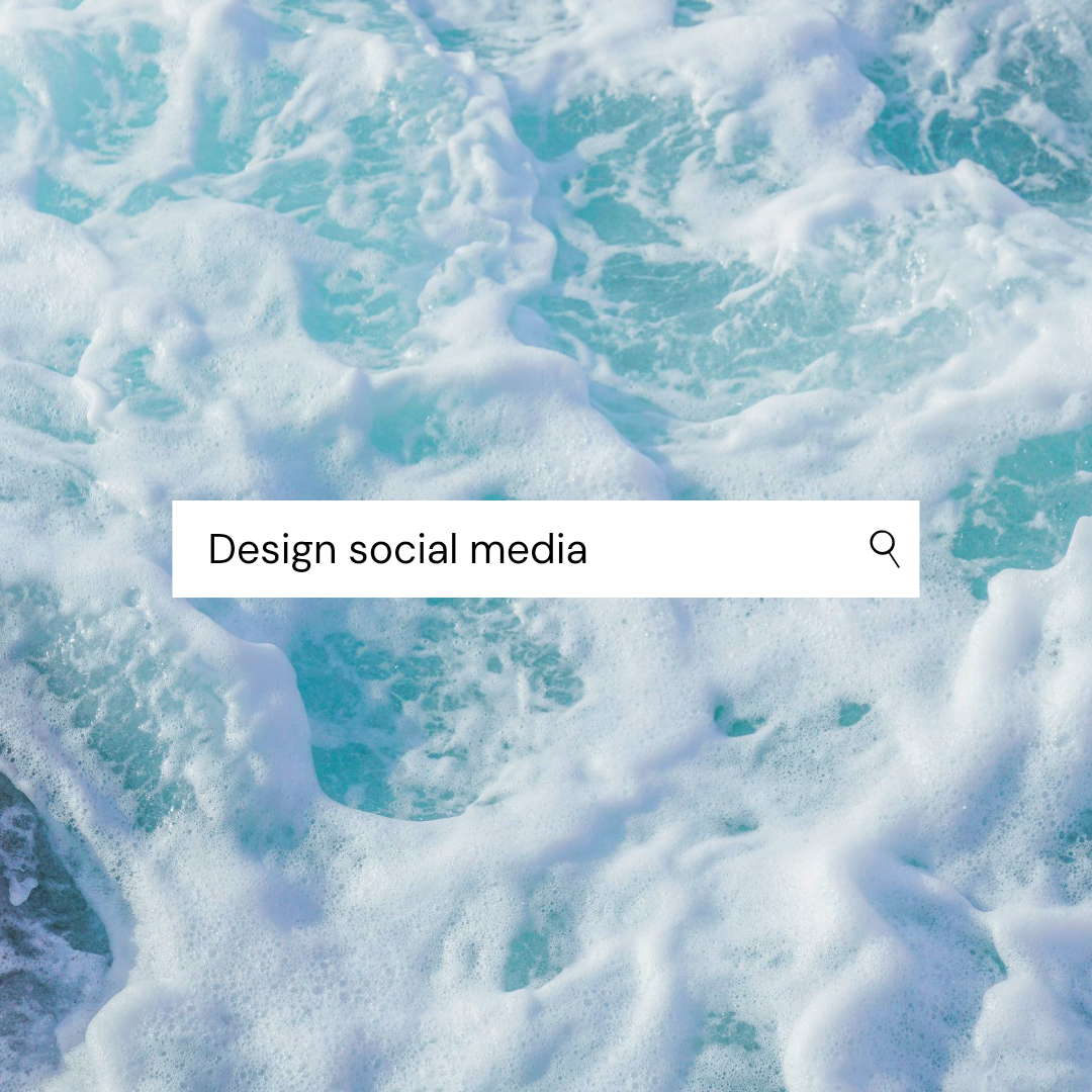 Designing posts, stories and videos for social media