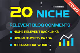 I will do 20 nofollow niche relevant blog comment
