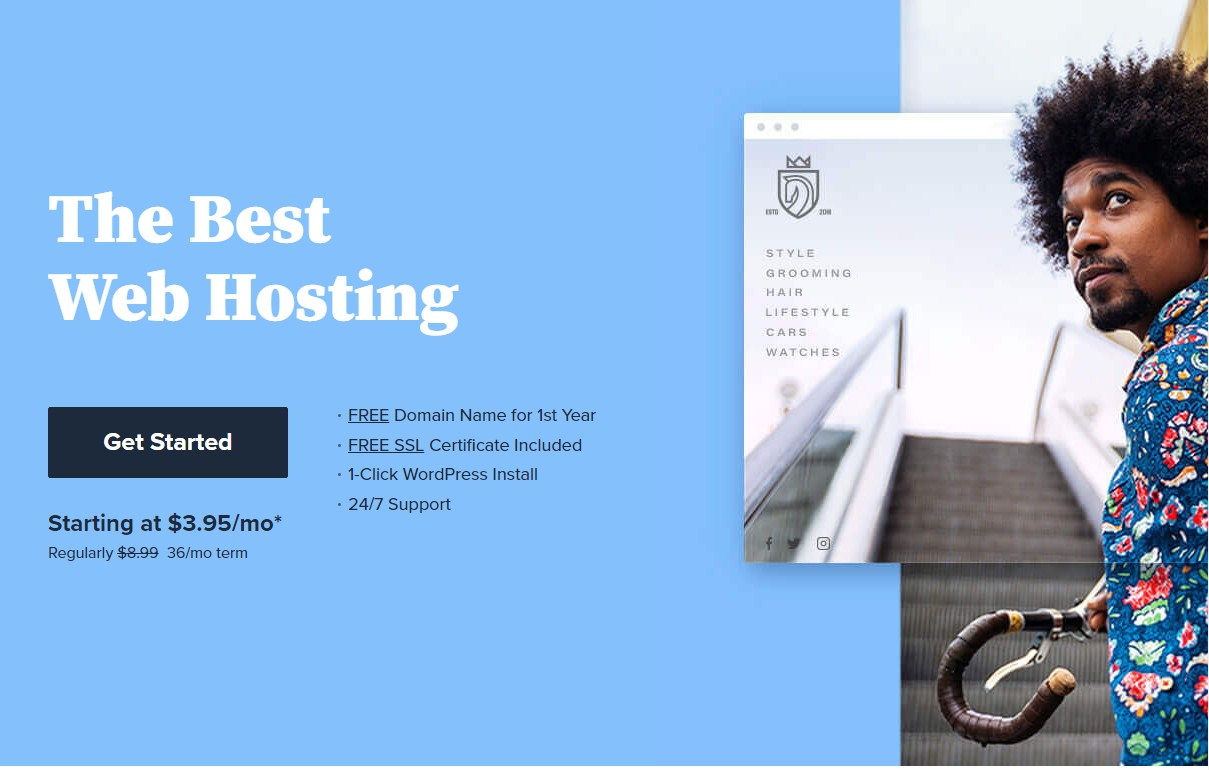 You can get hosting for your website from the best companies