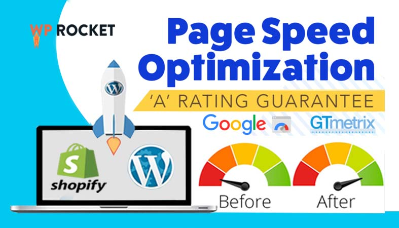 wordpress speed optimization and shopify speed optimization