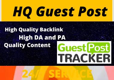 Write and Publish 10 Guest Post on High DA website unique content permanent contextual backlinks