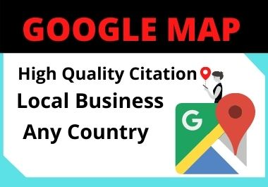 350 Google Maps Citation for local seo must rank your google business page