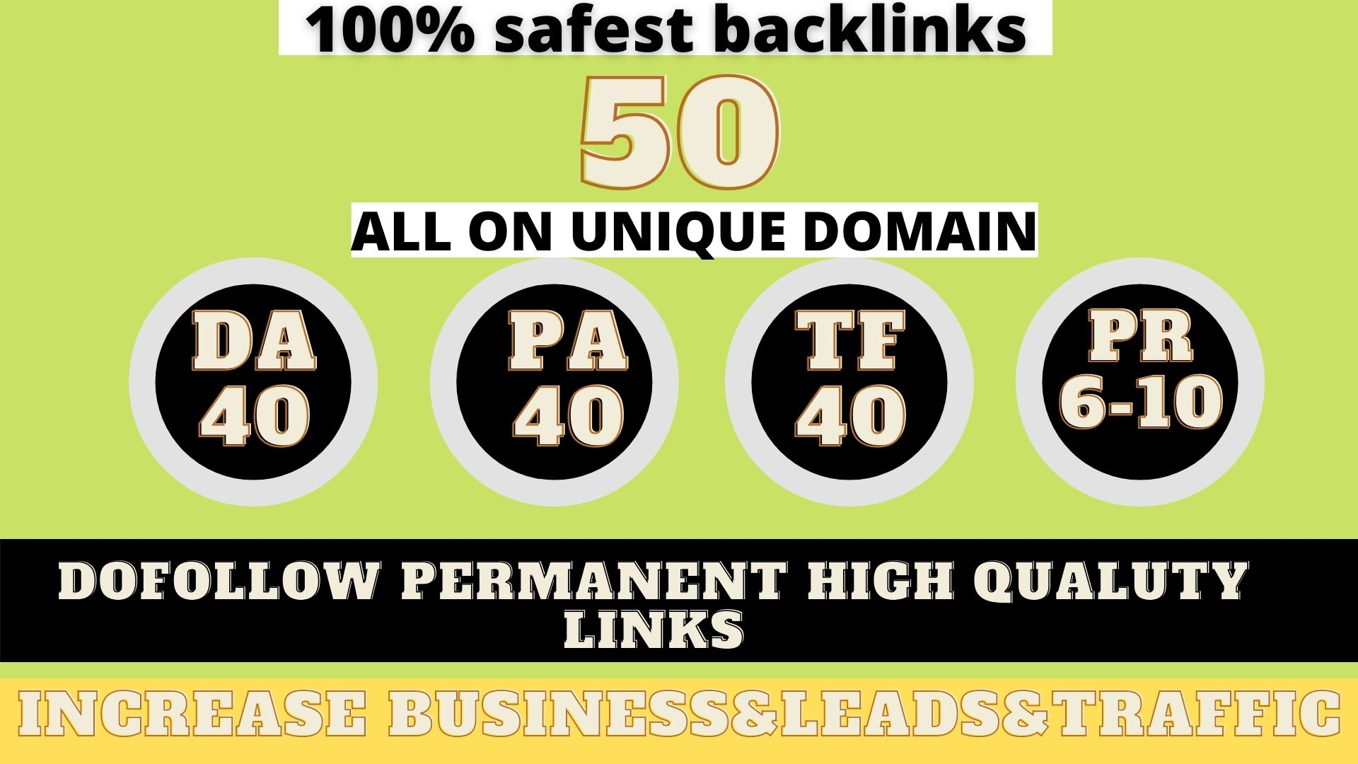build 50+ Permanent Web 2.0 Backlink with High DA/PA On your homepage with unique website