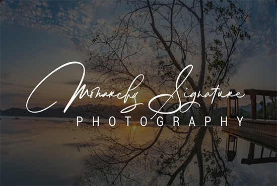 I will be guaranteed create elegant,  eye catchy,  handwritten or signature logo for you