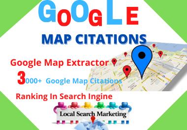150 Google maps citation manual high authority local seo