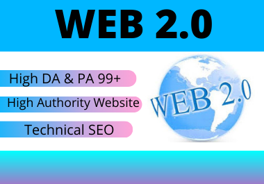 20 High authority web 2.0 backlinks Permeant link building
