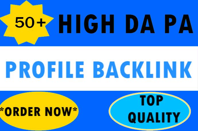 30+ Pr9 To Pr6 Manually Create Authority Profile Backlinks-Top service