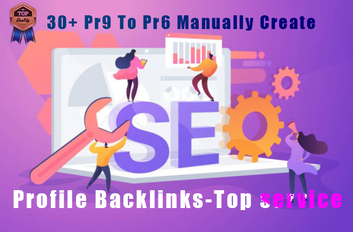 30+ Pr9 To Pr6 Manually Create Authority Profile Backlinks-Top service