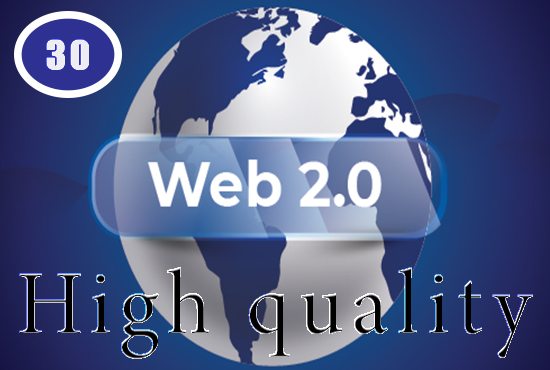 30 High Authority Web 2.0 Backlinks Boost Your Site on Google best Ranking