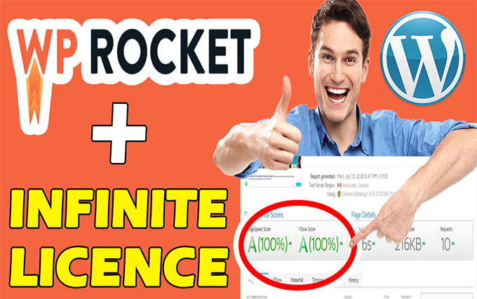 I will install WP ROCKET Plugin and boost your WordPress or WooCommerce website speed