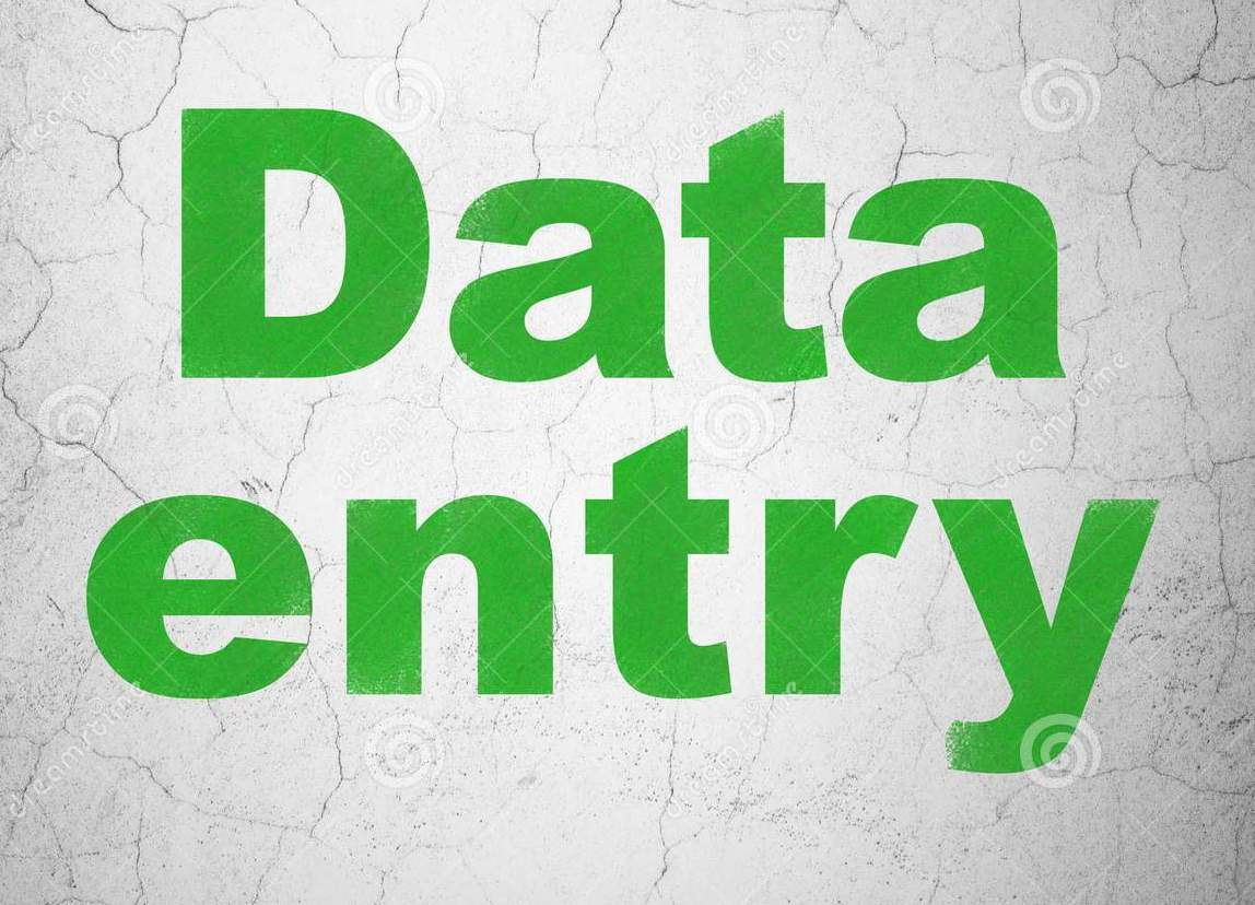 Any kind of Data entry for best price with the best quality
