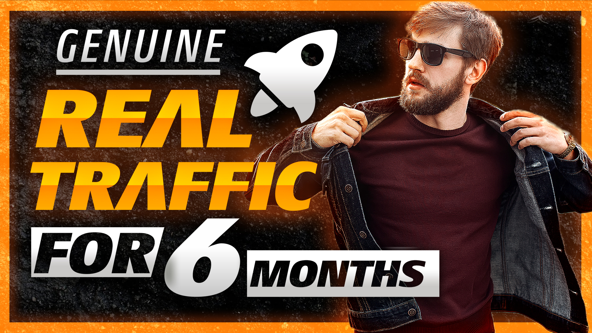 I Will Send Unlimited And Genuine Real Website Traffic For 6 Months