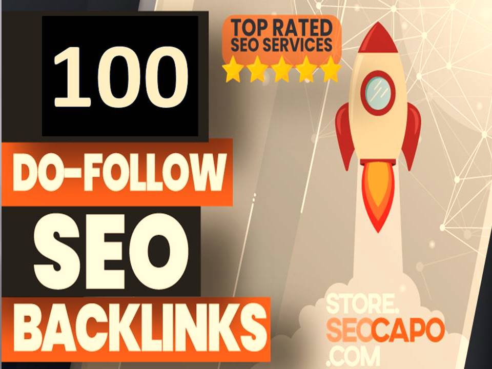 I will Build 100 High Quality Permanent High DA Dofollow Backlinks for off page SEO