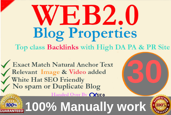 15 manual web2 0 super buffer blog high authority backlinks