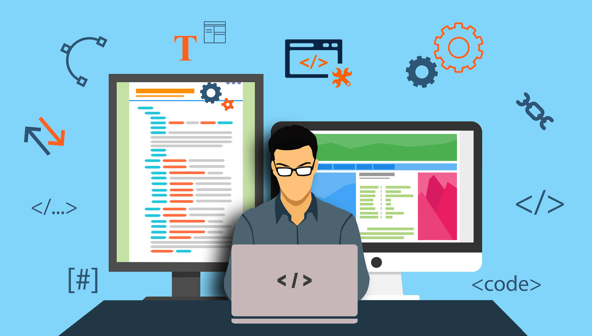 I will correct any errors in your javascript,  HTML,  or CSS code