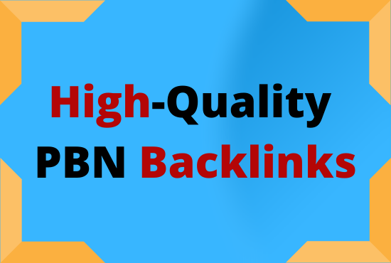 I will give you 15 lasting High DA PA CF Powerful PBN Backlinks