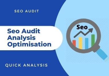 Provide Expert SEO Audit reports for competitor analysis.