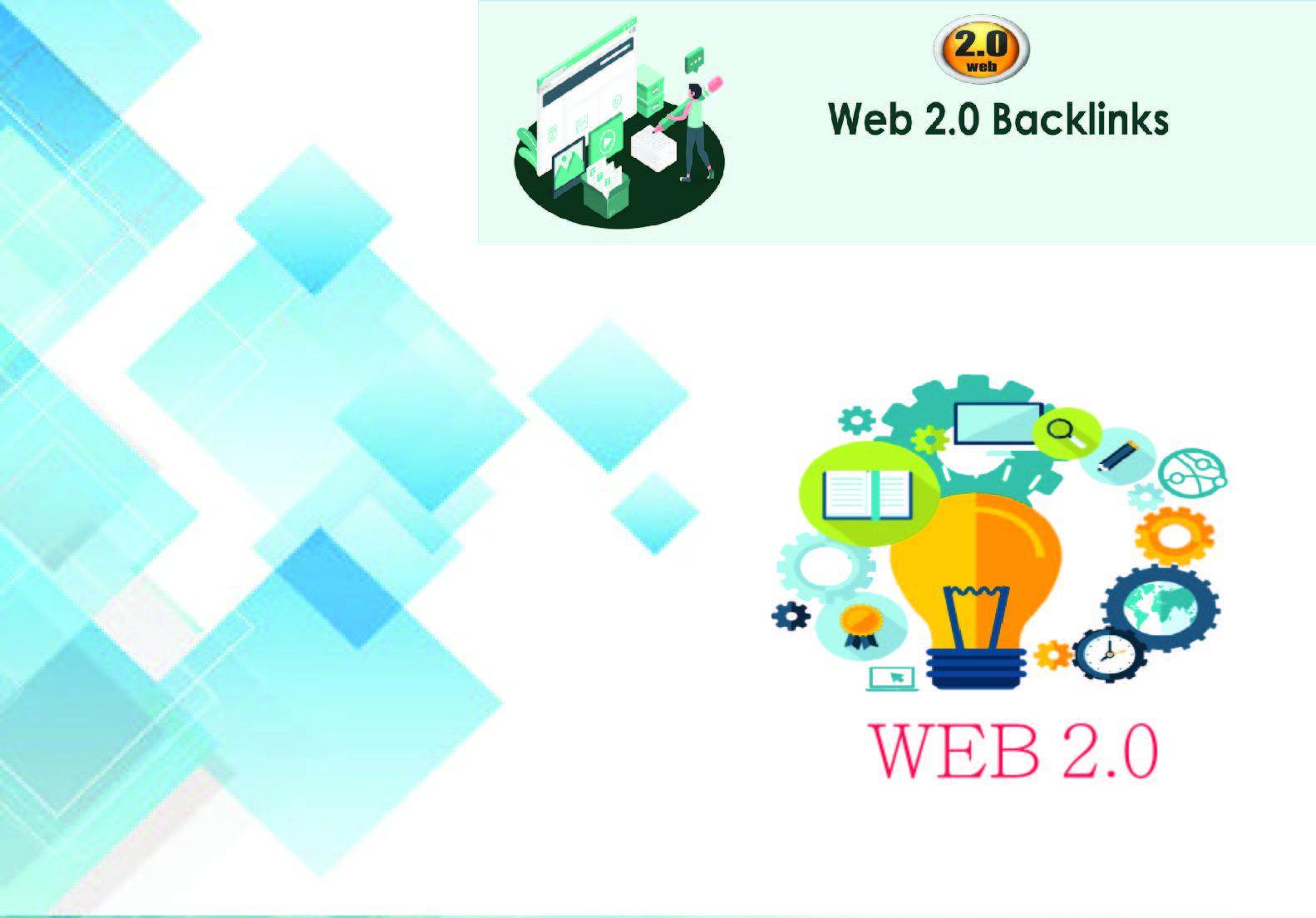 Provide 20 HQ DA, PA Authority web 2.0 Back-links.