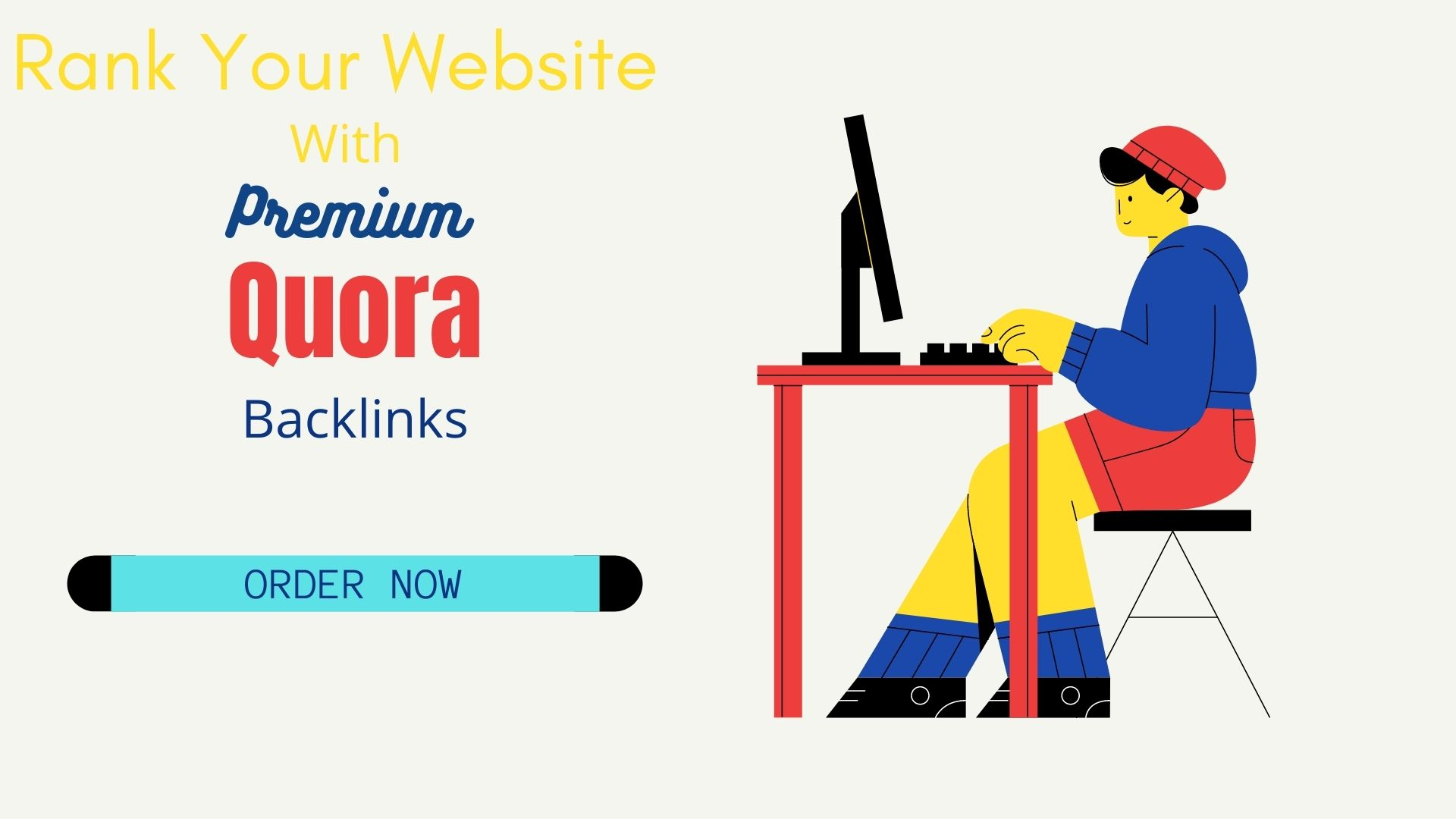 I will build 20 Quora Backlinks to promote website