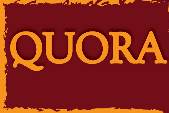 50 High Quality Quora Answers & backlinks