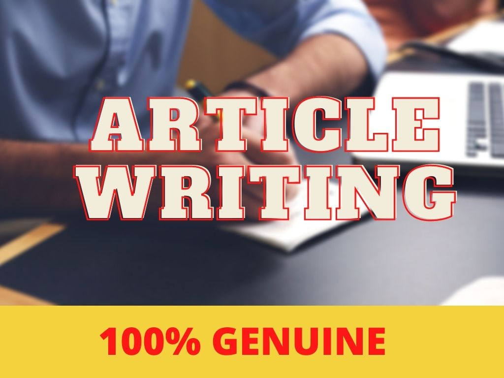 1200 words SEO optimized Article Writing/Content Writing in any topic