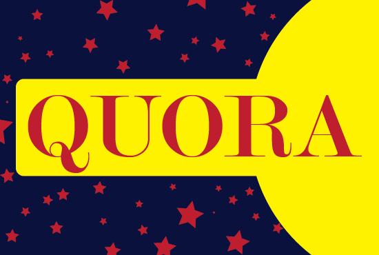 20+ Genuine Quora followers/Upvotes from worldwide