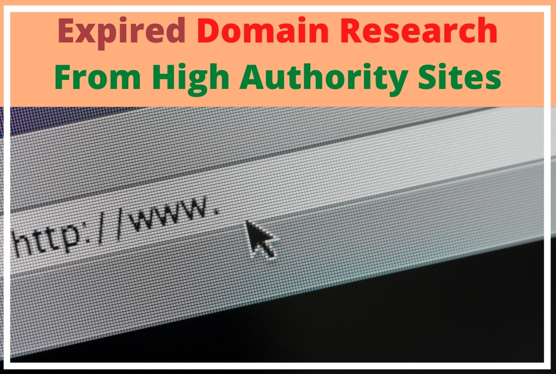 Research SEO friendly high quality DA 30+,  PA 30+ expired domain