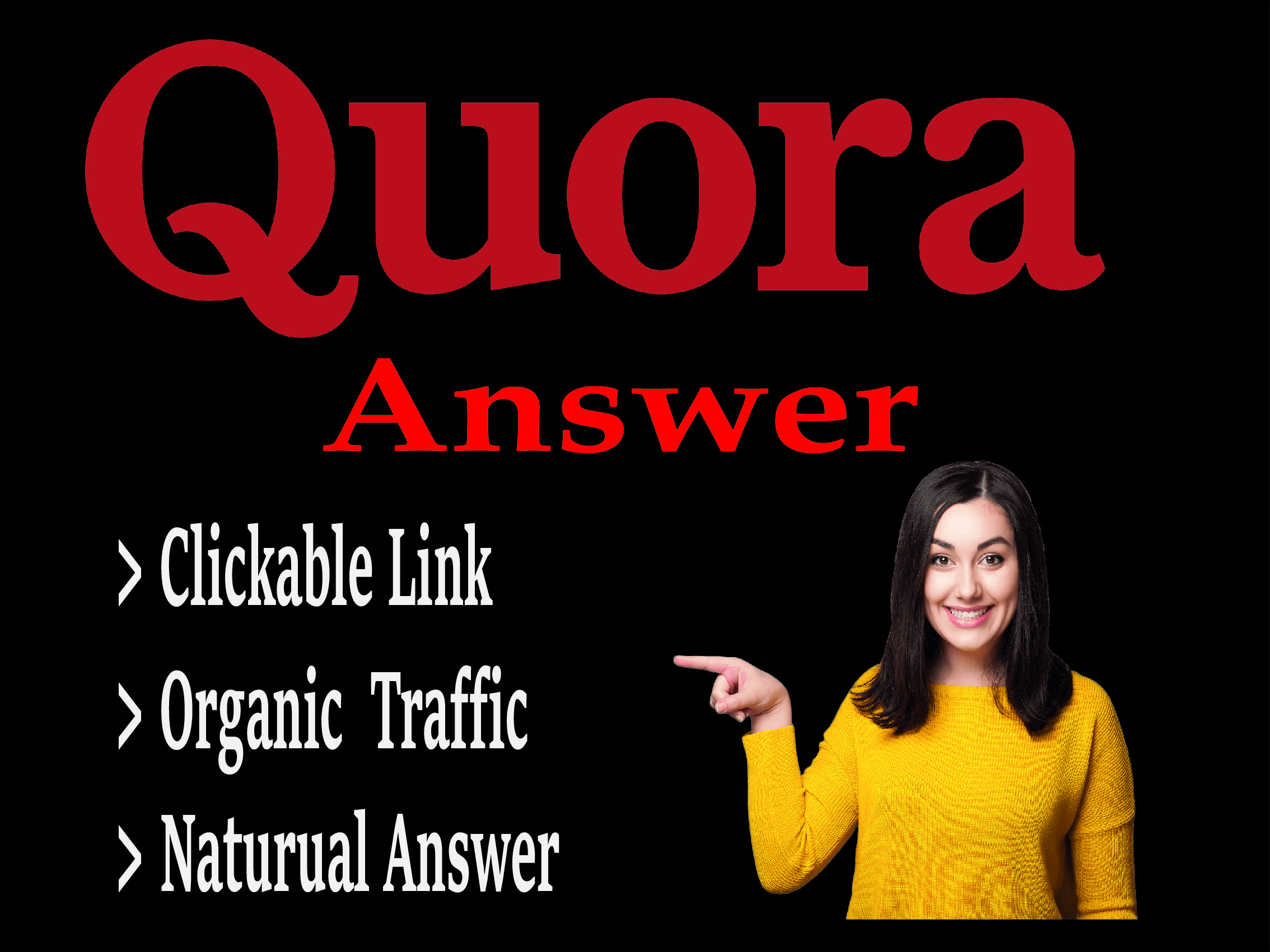 Boost your website with 15 Quora Answer's with a contextual link