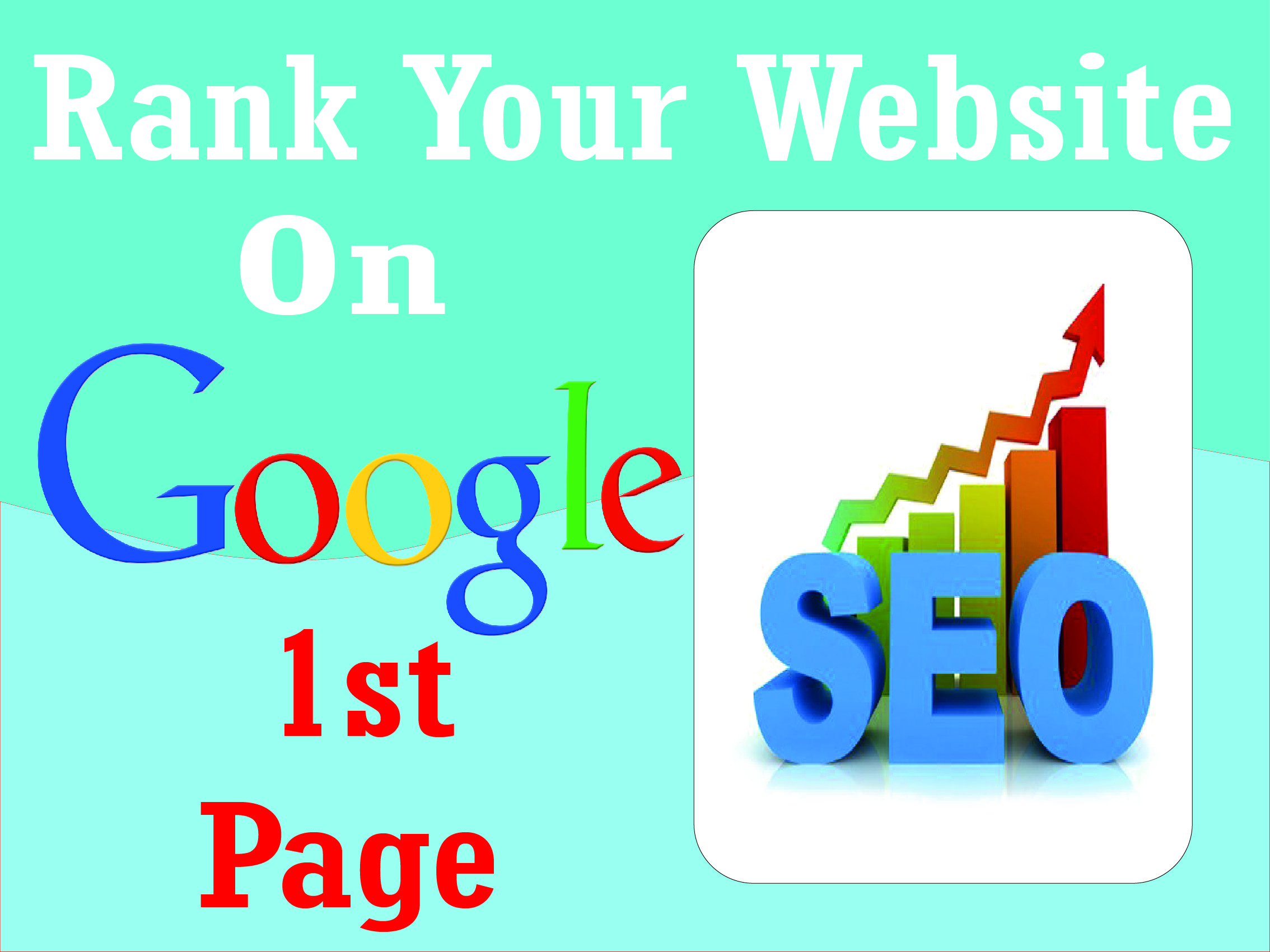 I will Offer You best Google 1st-page ranking service with linkbuilding