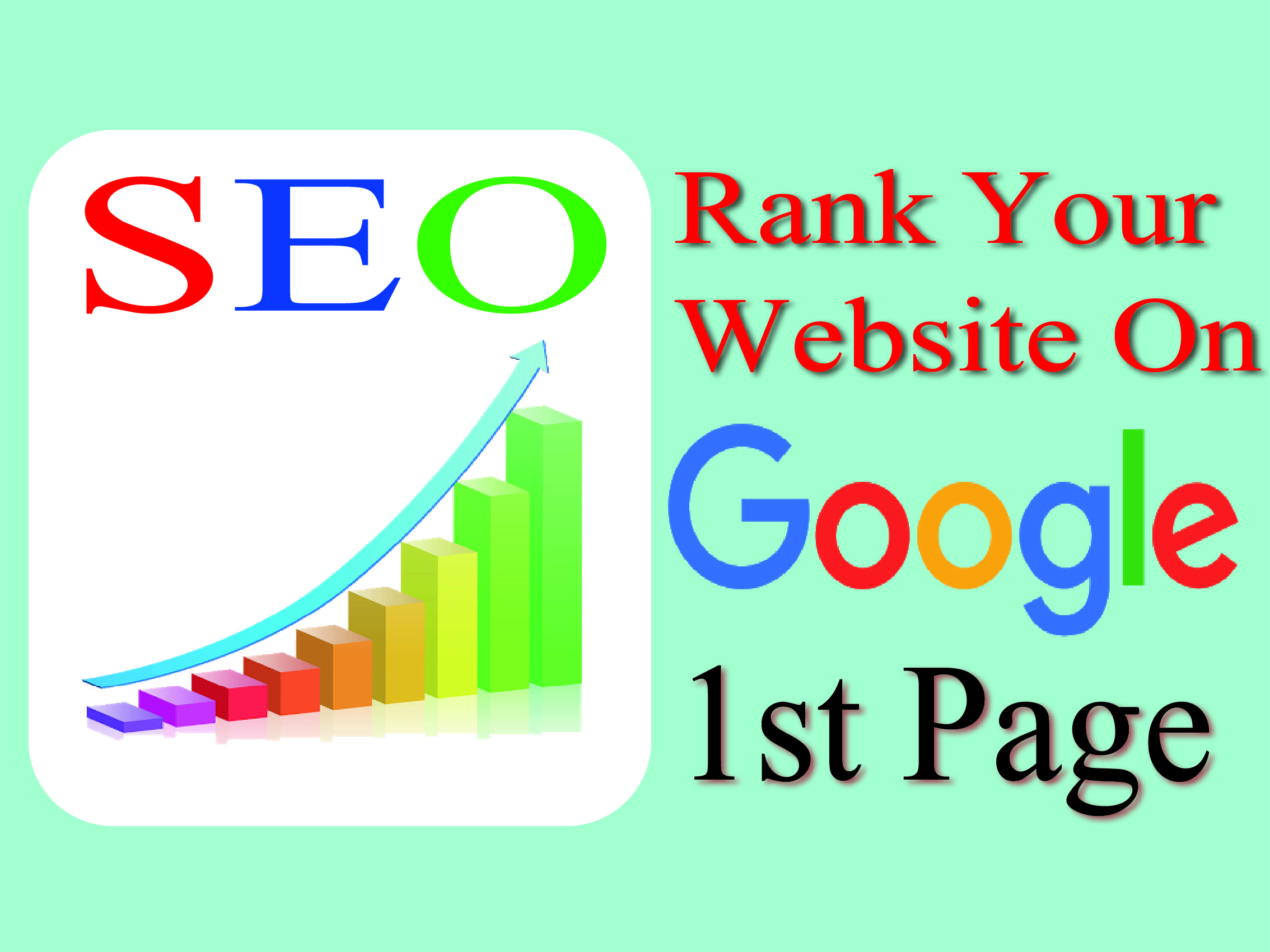 I will give you a complete monthly SEO service with backlinks for rank on GOOGLE first page